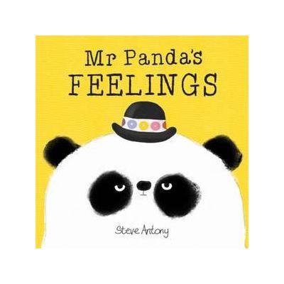 Mr Panda's Feelings Board Book - Steve Antony