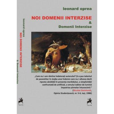 Noi domenii interzise - Leonard Oprea