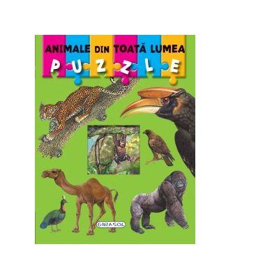 Puzzle animale din toata lumea