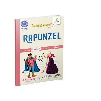 Rapunzel. Carte cu abtibilduri pentru citit pe silabe - Nicolae Tonita