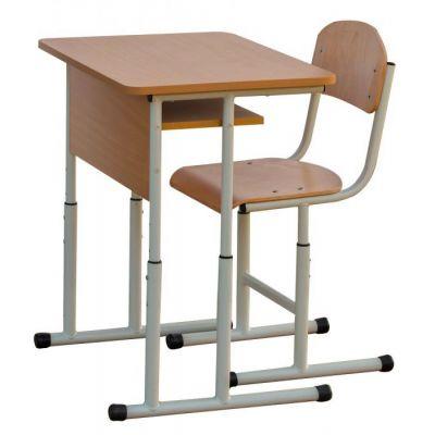 Set mobilier scolar individual cu inaltime reglabila (MBSIRSet)