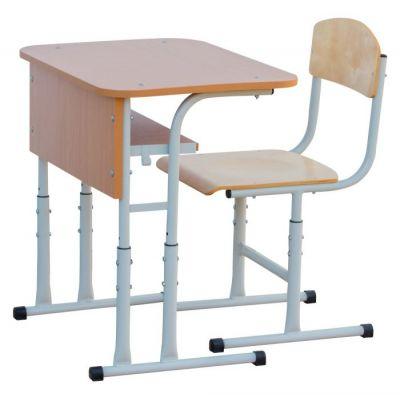 Set mobilier scolar individual cu inaltime reglabila RK (MBSET1- RK)