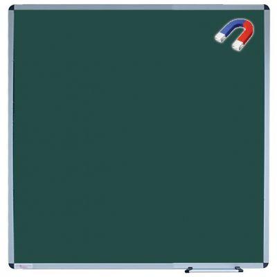 Tabla scolara magnetica, monobloc verde 1200X1200 mm (TSMVE120)