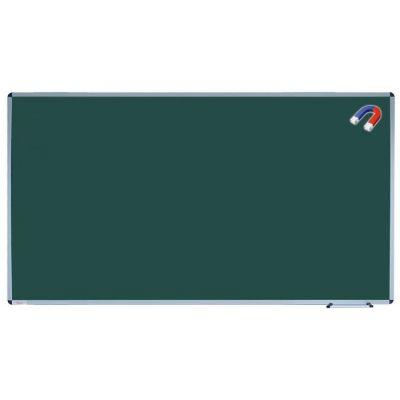 Tabla scolara monobloc verde, suprafata metalo-ceramica magnetica 1800x1200 mm(TSMVE180)