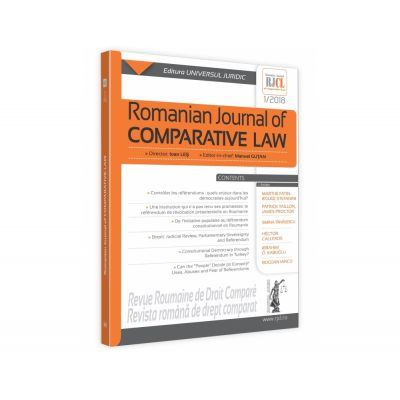 Romanian Journal of Comparative Law 1-2018