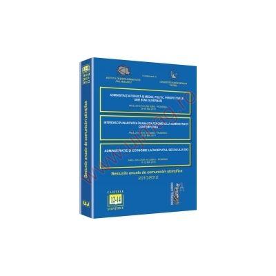 Sesiunea anuala de comunicari stiintifice 2010-2012