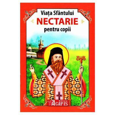 Viata Sfantului Nectarie pentru copii
