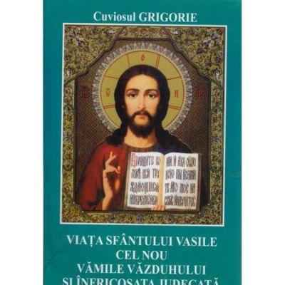 Viata Sfantului Vasile cel Nou. Vamile vazduhului si infricosata judecata - Cuviosul Grigorie
