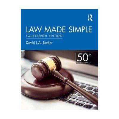 Law Made Simple - David Barker