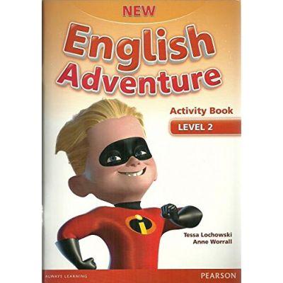 New English Adventure 2 Activity Book + Song CD Pack - Tessa Lochowski, Anne Worrall