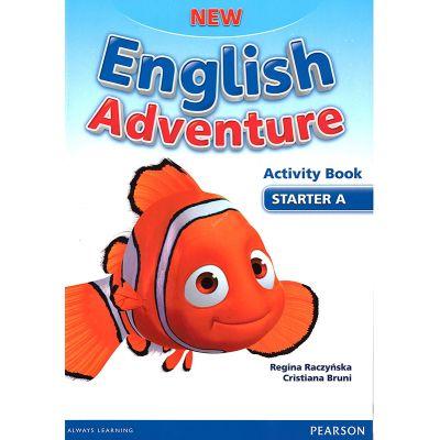 New English Adventure Starter A Activity book + Song CD Pack - Regina Raczynska, Cristiana Bruni