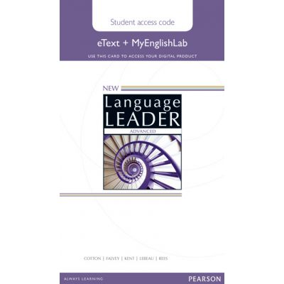New Language Leader Advanced eText Coursebook with MyEnglishLab Pack - David Cotton