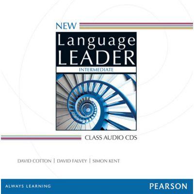 New Language Leader Intermediate Class Audio CDs, 2nd Edition - David Cotton, David Falvey, Simon Kent