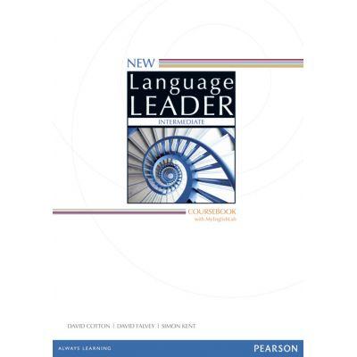 New Language Leader Intermediate coursebook and MyEnglishLab Pack intermediate - David Cotton