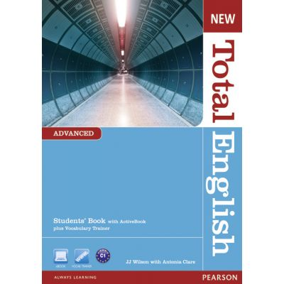 New Total English Advanced Students' Book with Active Book Pack, 2nd Edition - J. J. Wilson, Antonia Clare