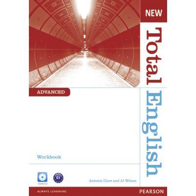 New Total English Advanced Workbook (no Key) and Audio CD