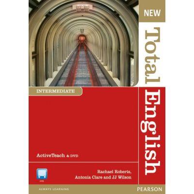 New Total English Intermediate Active Teach - Rachael Roberts, Antonia Clare, J. J. Wilson