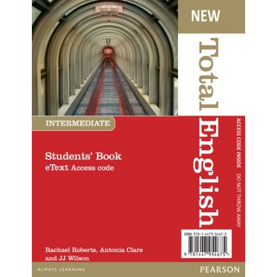 New Total English Intermediate eText Students' Book Access Card - Rachael Roberts