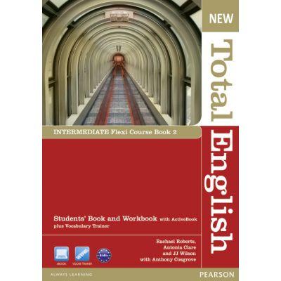 New Total English Intermediate Flexi Course Book 2 - Rachael Roberts, Antonia Clare, J. J. Wilson