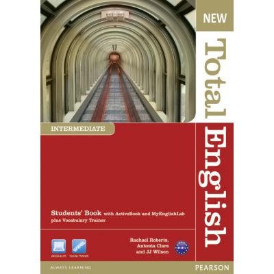 New Total English Intermediate Students' Book with Active Book and MyLab Pack - Rachael Roberts, Antonia Clare, J. J. Wilson