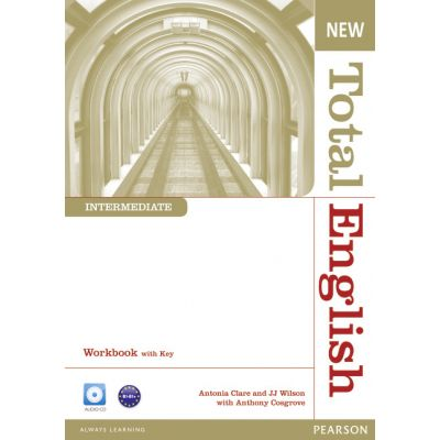 New Total English Intermediate Workbook with Key and Audio CD Pack - Anthony Cosgrove
