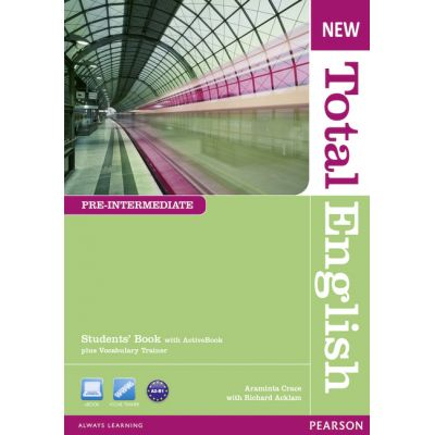 New Total English Pre-Intermediate Students' Book with Active Book Pack - Araminta Crace, Richard Acklam