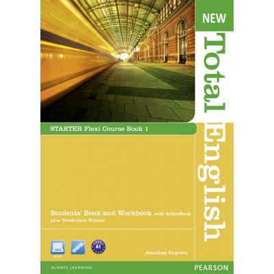 New Total English Starter Flexi Course Book 1 - Jonathan Bygrave