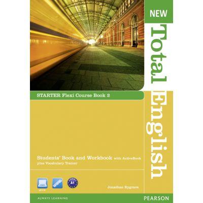 New Total English Starter Flexi Course Book 2 - Jonathan Bygrave