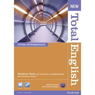 New Total English Upper Intermediate Students' Book with Active Book and MyLab Pack - Araminta Crace, Richard Acklam