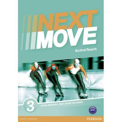 Next Move Level 3 Active Teach CD-ROM - Jayne Wildman, Fiona Beddall
