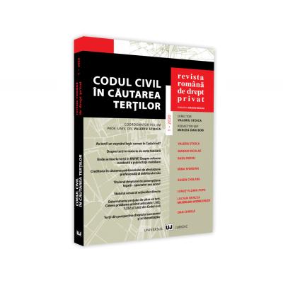 Revista Romana de Drept Privat nr. 1/2020. Codul Civil in cautarea tertilor