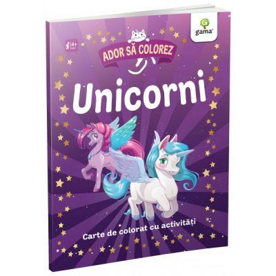 Unicorni. Ador sa colorez