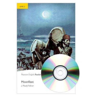 English Readers Level 2. Moonfleet Book + CD - J. Meade Falkner