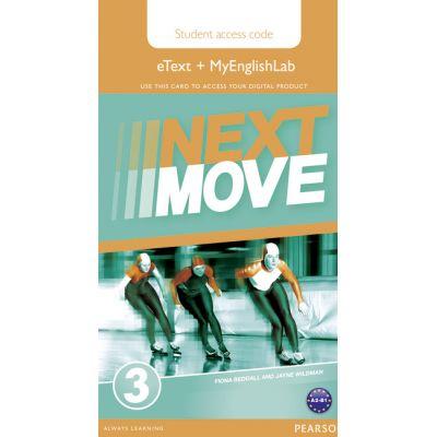 Next Move 3 eText & MEL Access Card