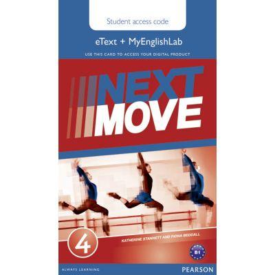 Next Move 4 eText & MEL Access Card