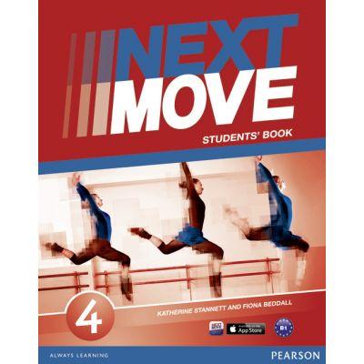 Next Move Level 4 Students Book - Katherine Stannett, Fiona Beddall