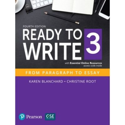 Ready to Write 3 with Essential Online Resources - Karen Blanchard