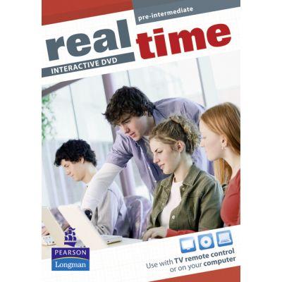 Real Time Pre-Intermediate Interactive DVD - Sarah Cunningham, Peter Moor