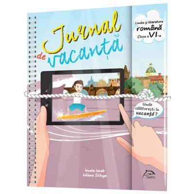 Jurnal de vacanta, Limba si literatura romana, clasa a VI-a, 2018