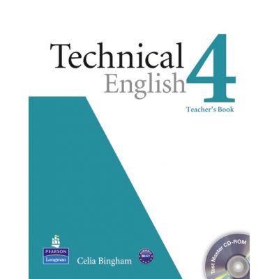 Technical English Level 4 Teacher's Book with Test Master CD-ROM - Celia Bingham
