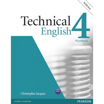 Technical English Level 4 Workbook with Key and Audio CD - Christopher Jacques
