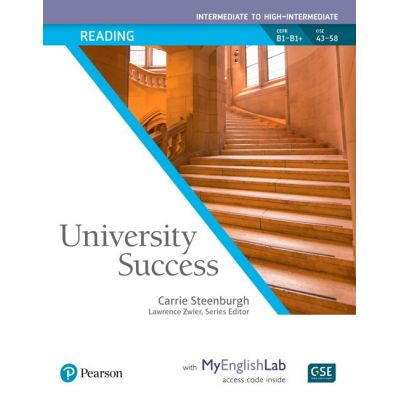 University Success Intermediate Reading Student Book with MyEnglishLab - Carrie Steenburgh, Lawrence Zwier