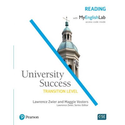 University Success Transition Reading Student Book with MyEnglishLab - Lawrence Zwier, Maggie Vosters