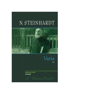Varia (volumul II) - Nicolae Steinhardt