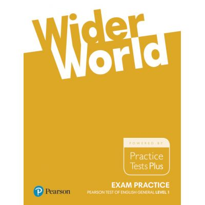 Wider World Exam Practice Books Pearson Tests of English General Level 1 (A2) - Liz Kilbey
