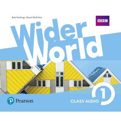 Wider World Level 1 Class Audio CDs