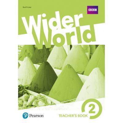 Wider World Level 2 Wider World 2 Teacher's Book with MyEnglishLab & Online Extra Homework + DVD-ROM Pack