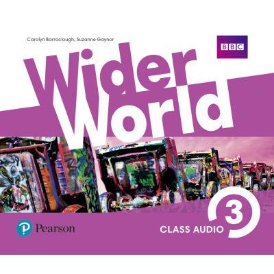 Wider World Level 3 Class Audio CDs