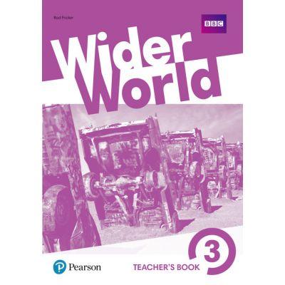 Wider World Level 3 Wider World 3 Teacher's Book with MyEnglishLab & Online Extra Homework + DVD-ROM Pack