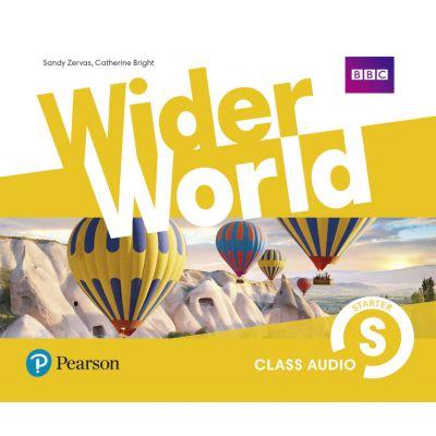 Wider World Level Starter Class Audio CDs